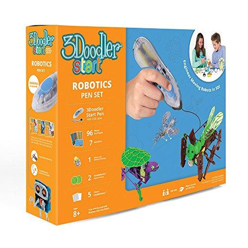 3Doodler Start Robotics Themed 3D Pen Set for Kids - 3