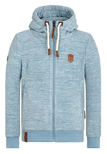 Naketano Male Zipped Jacket Mach Et Otze V Dusty Blue Melange