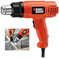 Black+Decker 1750W Electric Heat Gun, Orange - KX1650-B5
