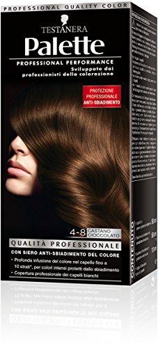 teinture pour les cheveux 4-8 brun cioccolato