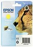 Epson T0714 Tinte Gepard, wisch- und wasserfeste (Singlepack) gelb