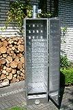 ISOLIERTER Räucherofen 120x39x33cm von SMOKI aus aluminiertem Stahl