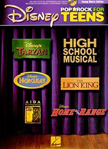 Disney Pop/Rock for Teens, Young Men's Edition (Book & CD)