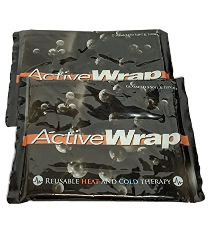 ActiveWrap Hot/Cold Reusable Compress Therapy Large Replacement Ice Packs (2) 7x10 BAW004 by ActiveWrap -