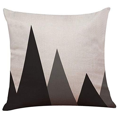 Pillow Case Vintage Black White Cotton Linen Poszewki Na Poduszki Dekoracyjne Throw Cushion Pillow Case Cover Good Prevent League Pillow Soft Game