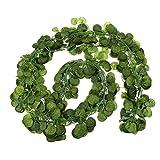LUOEM Künstlicher Efeu Blatt Garland Fake Laub Blätter hängenden Blatt Pflanze Home Dekor Begonia Blätter