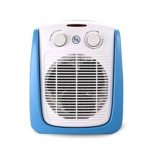 Xiao Heizung - Kleine Haushalt energiesparende Badezimmer Desktop wasserdicht blau Kunststoff Heizung (247mmX180mmX322mm) Raumheizkörper