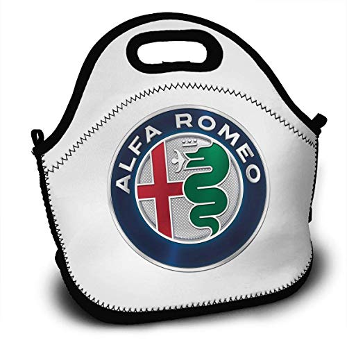 58106f296e21 Alfa Romeo Lunch Bag Lunch Box Thermal Insulated Lunch Pouch Picnic Bag  School Cross Body Backpack