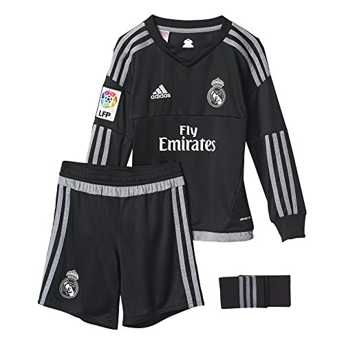adidas-1-Equipacin-Real-Madrid-CF-SMU-M-Conjunto-de-portero-color-negro-gris-talla-164