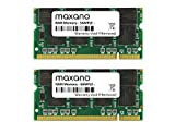 2GB Dual Channel KIT (2x 1GB) für Acer TravelMate C113TCi DDR333 PC2700 SO Dimm Arbeitsspeicher