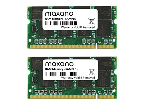 2GB Dual Channel KIT (2x 1GB) für Fujitsu-Siemens LifeBook E-4010 DDR333 PC2700 SO Dimm Arbeitsspeicher -