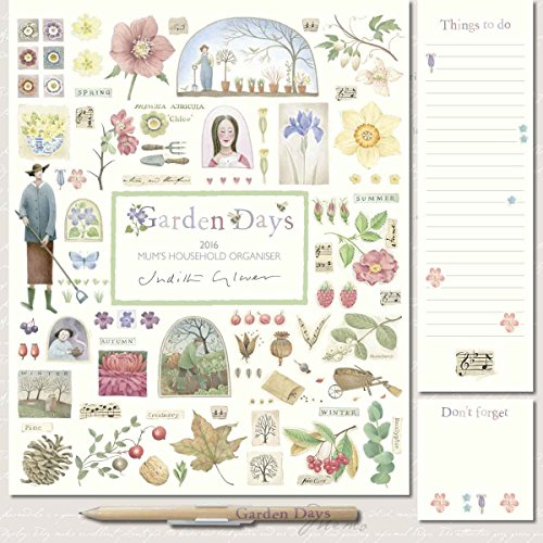 Garden Days by Judith Glover Mum's Household Planner 2016