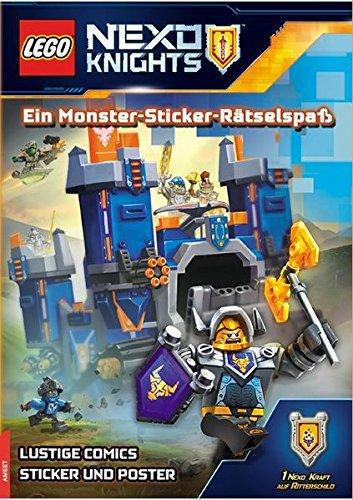 LEGO Nexo Knights Ein Monster-Sticker-Rätselspaß: mit Stickern und Poster