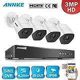 Best ANNKE Dvr Cameras - ANNKE 8CH HD-TVI H.264+ DVR - (4) Caméras Review