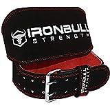 Iron Bull Strength Ceinture de Levage Rembourrée - 6 po de Large...