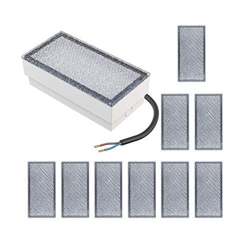 parlat LED Stein Wegeleuchte, 20x10cm, 230V, warm-weiß, 10 Stk.