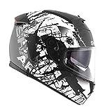 Shark Helm Moto Speed R Serien 2Laden matt KWK fertigt, schwarz/weiß, Größe XL