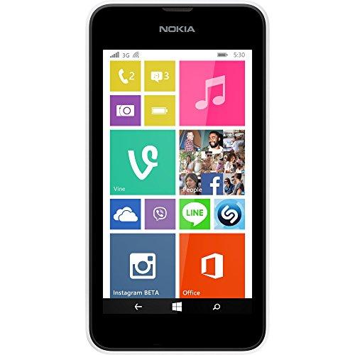 Nokia 512 Mb Ram (Nokia Lumia 530 Smartphone (10,2 cm (4 Zoll), 1,2GHz Snapdragon Quad-Core Prozessor, 512MB RAM, 5 Megapixel Kamera, Bluetooth, USB 2.0, Win 8) Weiß)