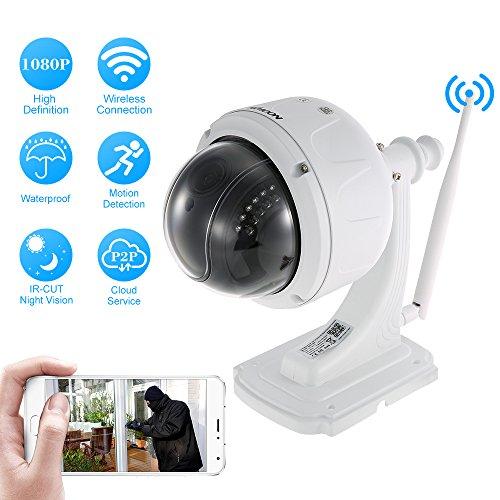 KKmoon IFT1843197435841HO, IP cam 1080p da 2 MP  con zoom ottico 5x