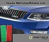 Skoda Gitter Aufkleber, SKODA Sport RS Octavia Suberb Fabia Jeti 23Aufkleber