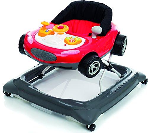 Lauflernhilfe RaceCar Deluxe mit Spielcenter | Lauflerngerät | Lauflerner