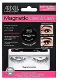 ARDELL Professional Magnetic Liner & Lash - Type 110, magnetischer Eyeliner mit 1 Paar magnetische Wimpern, einfaches Anbringen