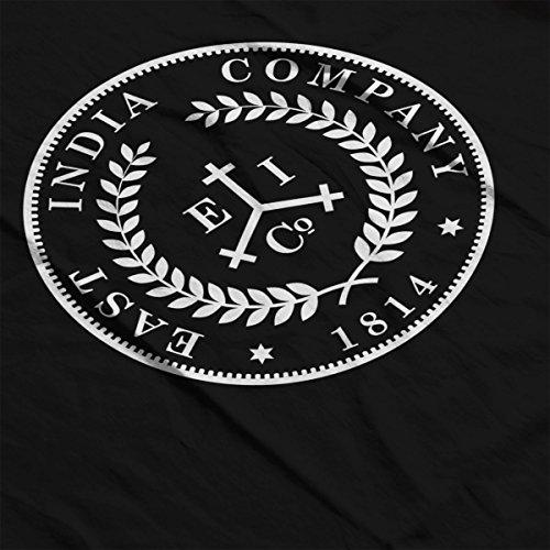 Taboo East India Company Coin Logo Women's Sweatshirt Black
