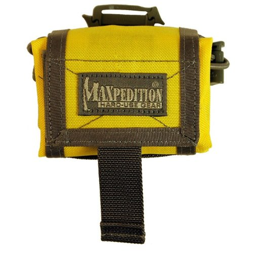 Maxpedition Faltbeutel Rollypoly safety yellow