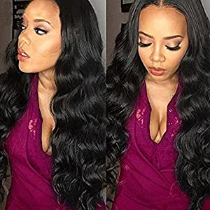 JiSheng Hair 4 Bundles Brazilian Body Wave Unprocessed Real Human Hair Extensions Mixed Length Brazilian Virgin Human Hair Weft Natural Color ( 14