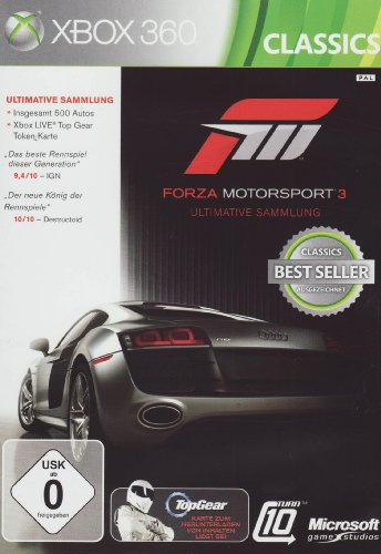 Forza Motorsport 3 (Ultimative Sammlung) gebraucht kaufen  Wird an jeden Ort in Deutschland