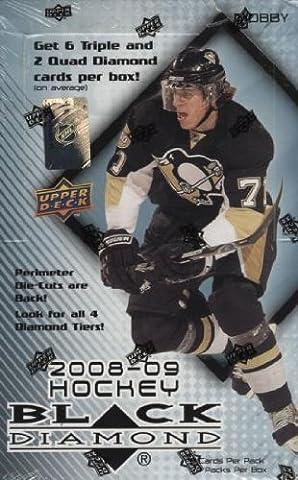 2008/2009Upper Deck Black Diamond Hockey Hobby Box
