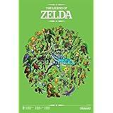 "CGC enorme–Póster de The Legend of Zelda Ocarina of Time Nintendo 3DS N64Gamecube–zelo05, papel, 24"" x 36"" (61cm x 91.5cm)"