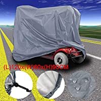 """Waterproof Mobility Scooter Wheelchair Storage Cover (?57.9"""" x 27.9"""" x 55.1"""")"""