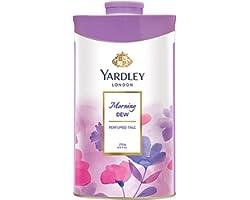 Yardley London Morning Dew Perfumed Talc for Women, 250g