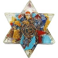 Harmonize Multistone Orgon Stern-AnhŠnger Spiritual Geschenk Reiki Healing Kristall Symbol Halskette Locket preisvergleich bei billige-tabletten.eu