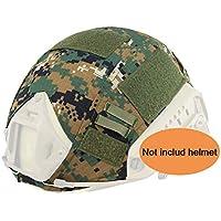 Worldshopping4U Tactical Airsoft caza de estilo militar casco cubierta funda, AOR2