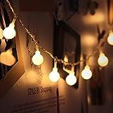 Innoo Tech Guirnalda de Luces de hadas Guirnalda luminosa Interior 10M 100 LED de Blanco Cálido para la decoración de Navidad, Patio, Boda, Dormitorio, Fiesta de cumpleaños