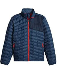 The North Face B Thermoball Full Zip Chaqueta, Niños, Azul (Shady Blue), M