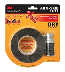 3M Anti Skid Tape-Dry (Black)