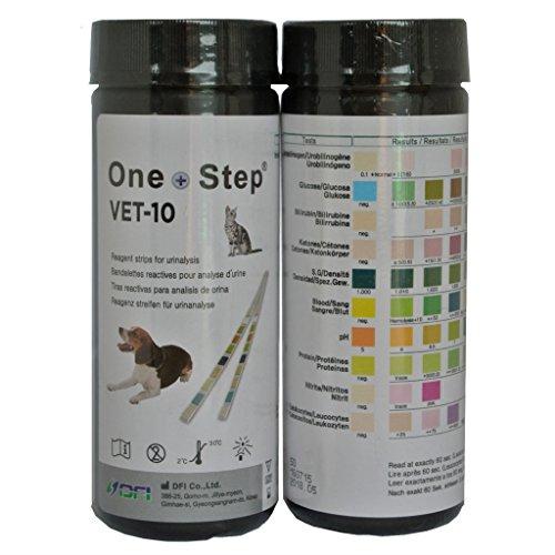 50 x One Step Strisce Urine Per Cani & Gatti