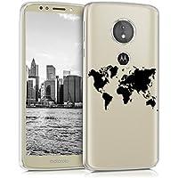 kwmobile Funda para Motorola Moto E5 - Carcasa de [TPU] para móvil y diseño