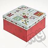 Telecharger Livres Calendrier de l Avent Motif de Noel Boite Cadeau Large 21 x 21 x 11cm dore (PDF,EPUB,MOBI) gratuits en Francaise