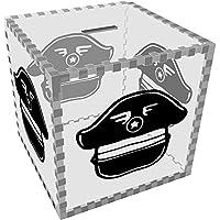 Preisvergleich für Azeeda Groß 'Hut des Piloten' Klar Sparbüchse / Spardose (MB00056142)