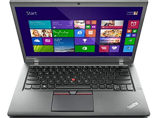 Lenovo ThinkPad T450s Premium Business-Notebook - 500GB SSD, Intel Dual Core i5 Prozessor, 12 GB RAM, 14in Zoll 1920x1080 Full-HD Display, Windows 10 Pro - (Generalüberholt) - Thinkpad T450