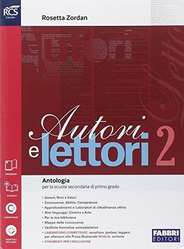 Autori e lettori. Quaderno. Per la Scuola media. Con e-book. Con espansione online: 2