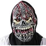 SaiDeng Horror De Halloween Del Partido Del Traje Máscara Cráneo Temible