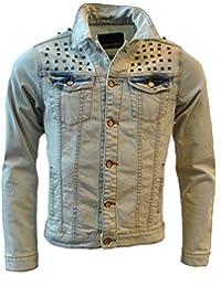 Kenzarro - Blouson - Veste en jean - Homme