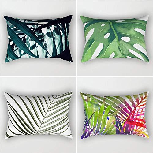 Pillowcase Pillow Shams Soft Polyester Square Decorative Throw Pillow Covers Home Decor for Sofa Car...