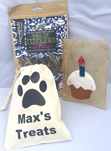 personalised-large-dog-treat-bag-rawhide-dog-chews-an-edible-dog-birthday-cake-card-nutritious-tiddl