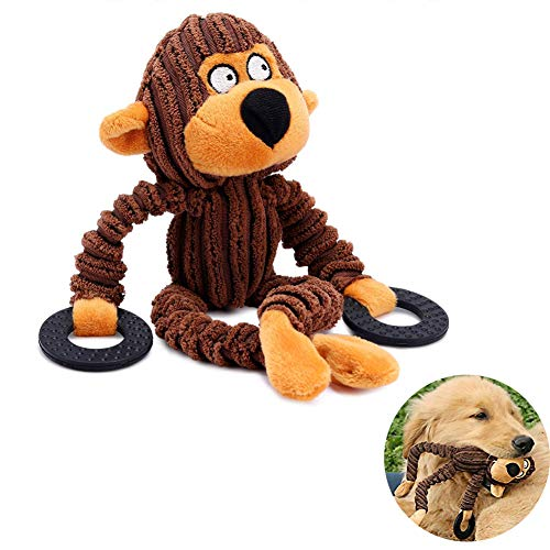Bello Luna Juguete Perros Mono Mono Anillo Goma Cachorros